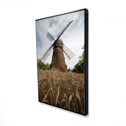 Framed 24 x 36 - 3D - Windmill