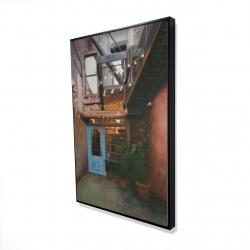 Framed 24 x 36 - 3D - Cozy little place