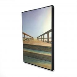 Framed 24 x 36 - 3D - Footbridge