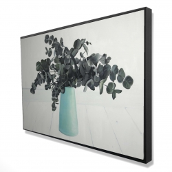 Framed 24 x 36 - 3D - Bouquet of eucalyptus