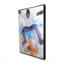 Framed 24 x 36 - 3D - Skater