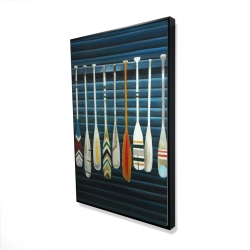 Framed 24 x 36 - 3D - Paddles