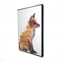 Framed 24 x 36 - 3D - Red fox