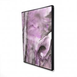 Framed 24 x 36 - 3D - Purple