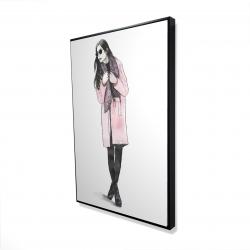 Framed 24 x 36 - 3D - Woman spring look