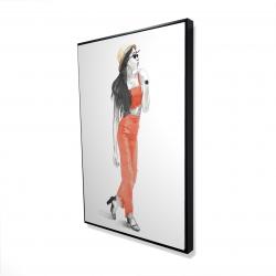 Framed 24 x 36 - 3D - Strike the pose
