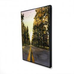 Framed 24 x 36 - 3D - Long road