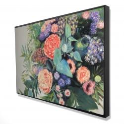 Framed 24 x 36 - 3D - Flowers melody