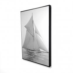 Framed 24 x 36 - 3D - Sailing ship
