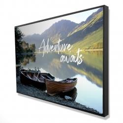 Framed 24 x 36 - 3D - Adventure awaits