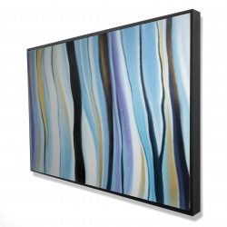 Framed 24 x 36 - 3D - Blue mood
