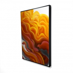 Framed 24 x 36 - 3D - Colorful smoke