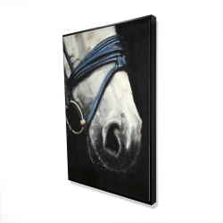 Framed 24 x 36 - 3D - Horse with harness