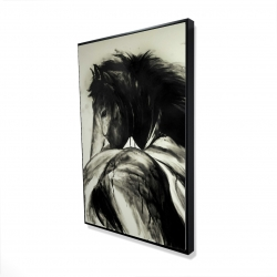 Framed 24 x 36 - 3D - Classical horse
