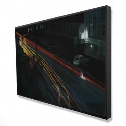 Framed 24 x 36 - 3D - Downtown