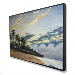 Framed 24 x 36 - 3D - Tropical summer moments