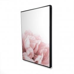 Framed 24 x 36 - 3D - Peony flower dream