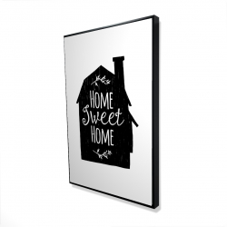 Framed 24 x 36 - 3D - Home sweet home
