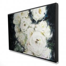 Framed 24 x 36 - 3D - Garden roses