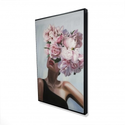 Framed 24 x 36 - 3D - See life in flowers