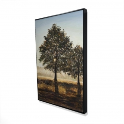 Framed 24 x 36 - 3D - Trees in the countryside