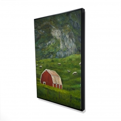 Framed 24 x 36 - 3D - Life in the countryside