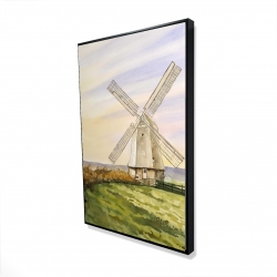 Framed 24 x 36 - 3D - Morning breeze