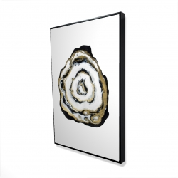 Framed 24 x 36 - 3D - Golden agate