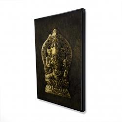 Framed 24 x 36 - 3D - Lord ganesha