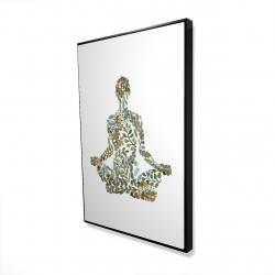 Framed 24 x 36 - 3D - Zen attitude
