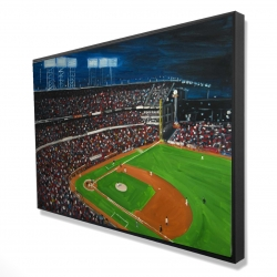 Framed 24 x 36 - 3D - Baseball game