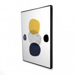 Framed 24 x 36 - 3D - Spheres