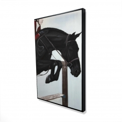 Framed 24 x 36 - 3D - Riding competition