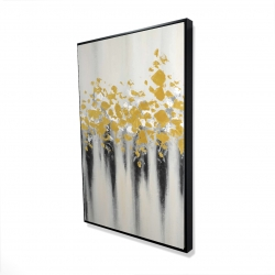 Framed 24 x 36 - 3D - Small golden spots