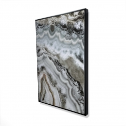 Framed 24 x 36 - 3D - Abstract geode