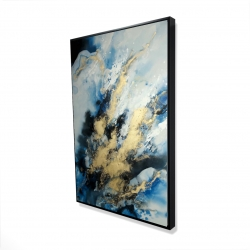 Framed 24 x 36 - 3D - Blue marble