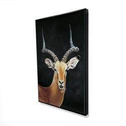 Framed 24 x 36 - 3D - Antelope