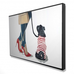 Framed 24 x 36 - 3D - Best friends fashion