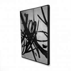 Framed 24 x 36 - 3D - Circular strokes