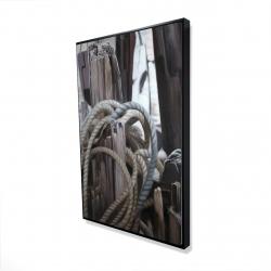 Framed 24 x 36 - 3D - Driftwood