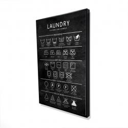 Framed 24 x 36 - 3D - Laundry
