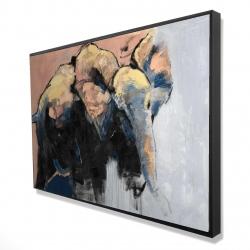 Framed 24 x 36 - 3D - Abstract elephant