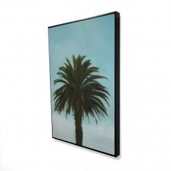 Framed 24 x 36 - 3D - Tropical palm