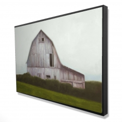 Framed 24 x 36 - 3D - Rustic barn