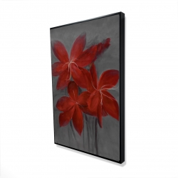 Framed 24 x 36 - 3D - Asiatic lily