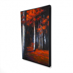 Framed 24 x 36 - 3D - Mysterious forest