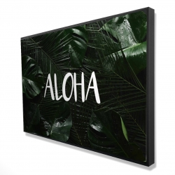 Framed 24 x 36 - 3D - Tropical aloha