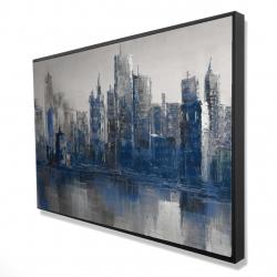 Framed 24 x 36 - 3D - Melancholy city