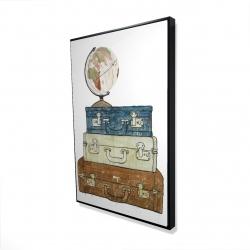 Framed 24 x 36 - 3D - Go around the world