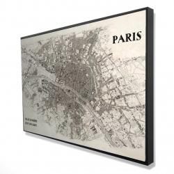 Framed 24 x 36 - 3D - Paris